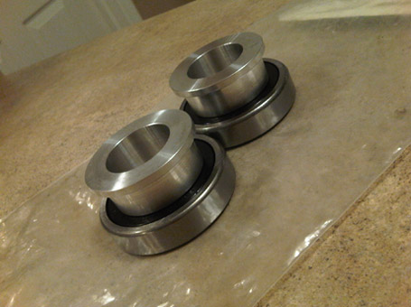Yamaha R6 Rear Wheel Captive Spacers